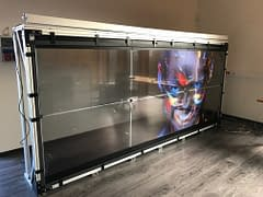 Video Wall mounting Structure